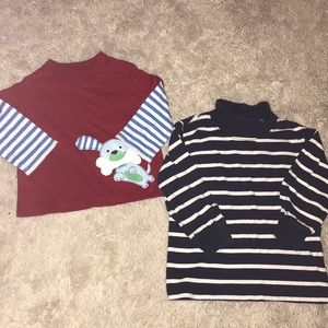 Other - Two boys 6 month long sleeve shirts
